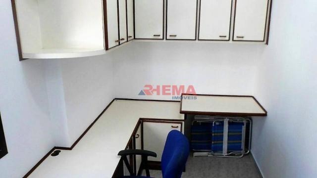 Apartamento com 3 dormitórios à venda, 180 m² por R$ 925.000,00 - Gonzaga - Santos/SP - Foto 19