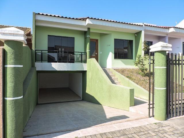 Casa nova com 120 m² de área construída - Bairro Botiatuva (antiga Lorenzetti) Campo Largo