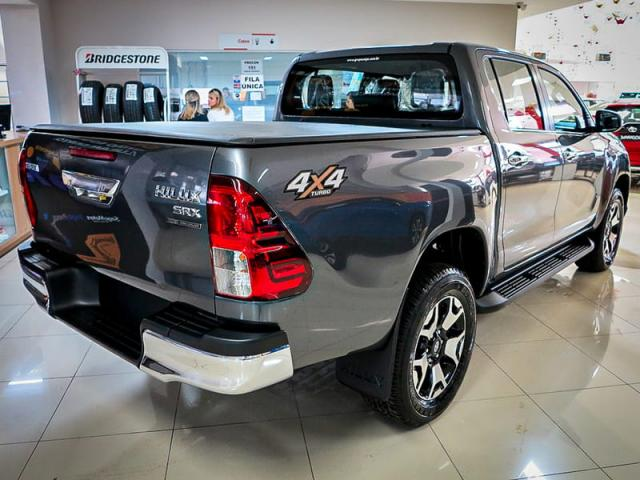 TOYOTA HILUX CD DSL 4X4 SRX AT 19/20 - Foto 5