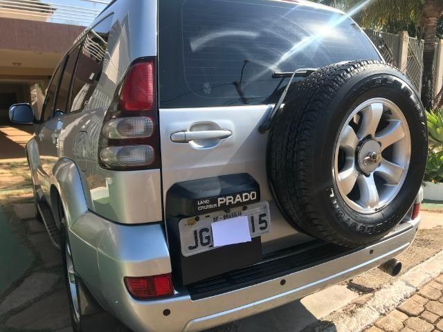 Toyota Prado 8 lugares, Só DF, conservadíssima, completa e revisada - Foto 8
