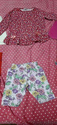 Lote de roupa infantil fem tamanho 2 3 e 4  - Foto 5