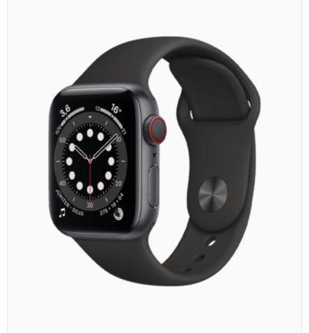Apple Watch Serie 6 GPS 44MM novo lacrado