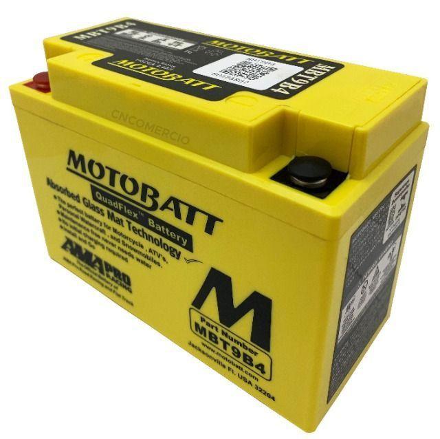 Bateria Agm Motobatt Mbt9b4 Yamaha Xt 660 R Xt 660 Z Tenere Xt 660 X Supermoto R6 96-05 - Foto 4