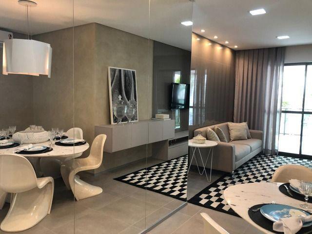 Com 78,6m² seu novo apartamento é na Ponta Verde