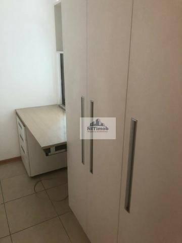 Excelente Apartamento na Mariz e Barros 272 em Icaraí no Condomínio Calle Veronna, com arm - Foto 7