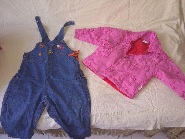 Roupinhas de criança (menina) na idade de 1 a 2 anos - Foto 2