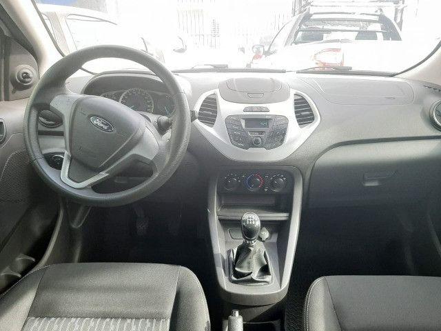 Ford Ka 1.0 SE/SE Plus 5p 2017 Ent: R$ 4.000,00 + 48 x R$ 899,69 - Foto 5