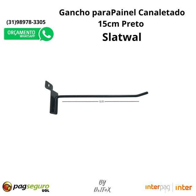 Gancho para Painel Canaletado 15cm Caixa. De R$1,69 por R$1,50