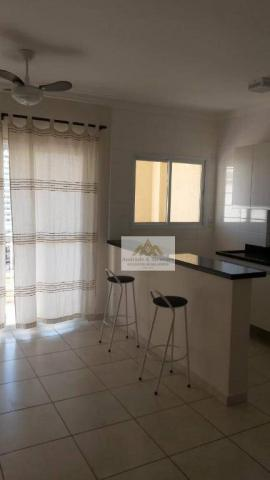 Apartamento com 1 dormitório para alugar, 42 m² por R$ 850/mês - Nova Aliança - Ribeirão P - Foto 2