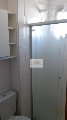 Apartamento com 1 dormitório para alugar, 42 m² por R$ 850/mês - Nova Aliança - Ribeirão P - Foto 14