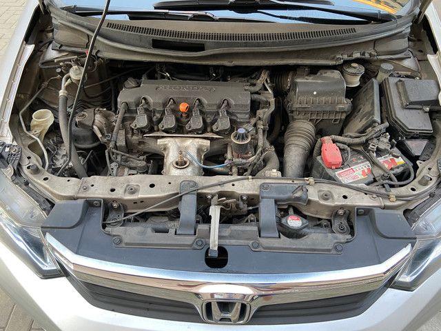 Vendo Honda Civic 2012/2013 LXS manual (Não aceito troca) - Foto 9