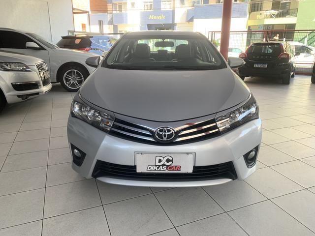 Toyota corolla xei 2.0 flex aut. 2015 prata