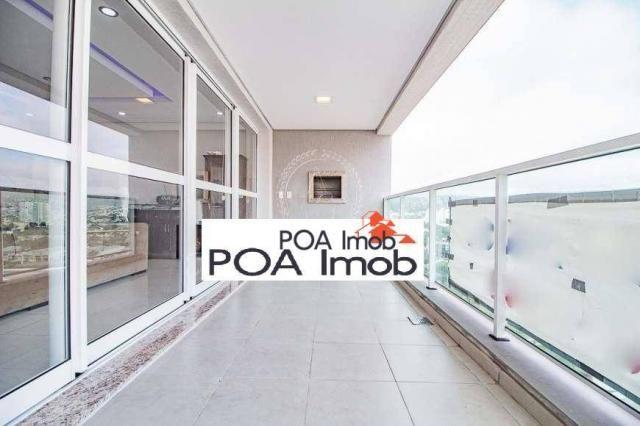 Apartamento com 2 dormitórios à venda, 114 m² por R$ 964.000,00 - Jardim do Salso - Porto  - Foto 2