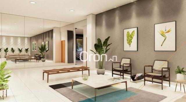 Apartamento com 3 dormitórios à venda, 87 m² por R$ 405.000,00 - Setor Pedro Ludovico - Go - Foto 5