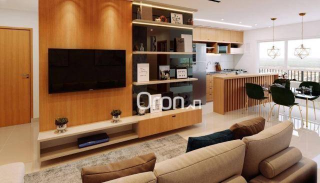 Apartamento com 3 dormitórios à venda, 87 m² por R$ 405.000,00 - Setor Pedro Ludovico - Go