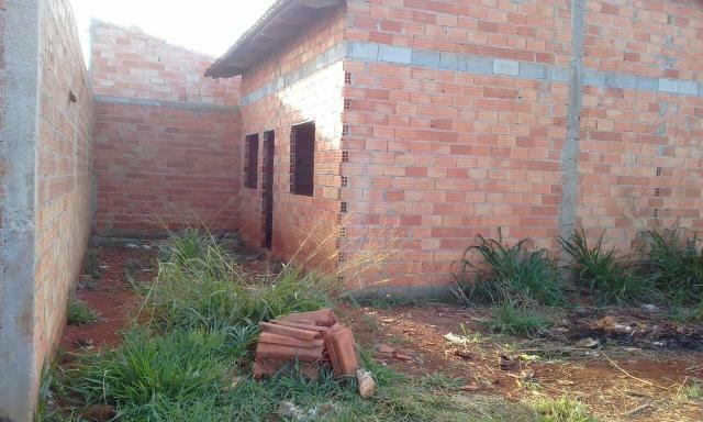 Ágio de lote com casa inacabada