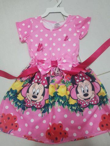 Vestido da Minnie Vermelha  e Minnie Rosa  - Foto 2