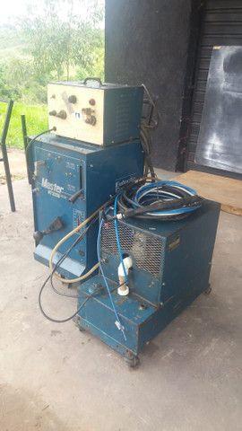 Máquina de solda NT2000 AC DC.