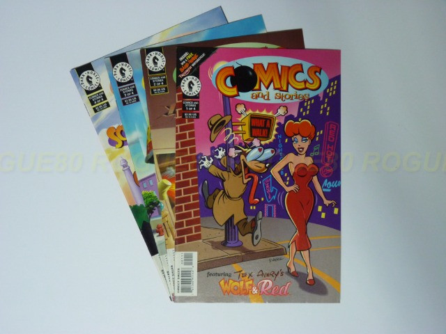 Comics and Stories - Tex Avery - Lote De 4 Revistas - Droopy