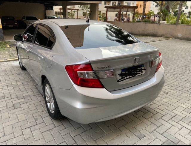 Vendo Honda Civic 2012/2013 LXS manual (Não aceito troca) - Foto 6