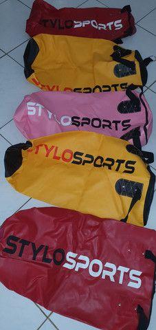 PRODUTO NOVO - 06 Sacos de Boxe StyloSport