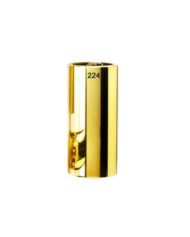 Slide de Latão Dourado Grosso/Médio 224 SI timbre quente e ressonante p/violões corda aço