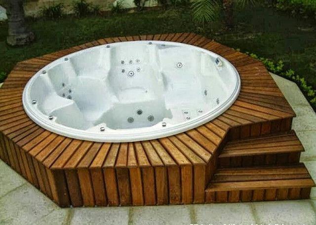Manutenção de banheira spa ofuro e piscina