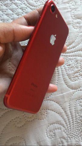 Vendo iPhone 7 red 128 g  - Foto 2