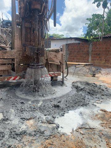 Perfuração de poço artesianos