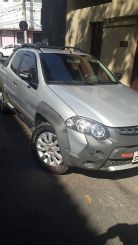 pick-up fiat strada, manual, chave reserva, - Foto 6