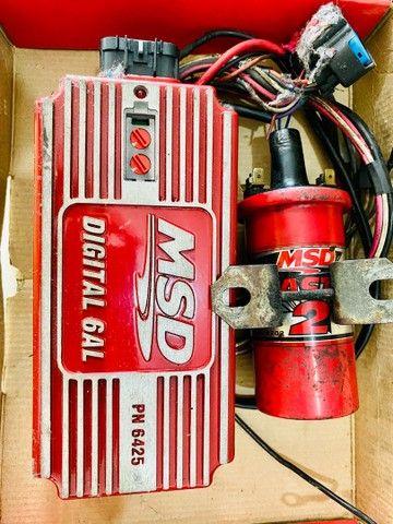 Módulo ignição MSD 6al + bobina MSD