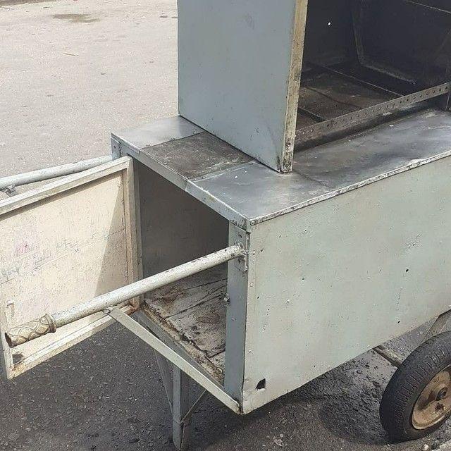 Vendo carrinho de churrasco - Foto 2