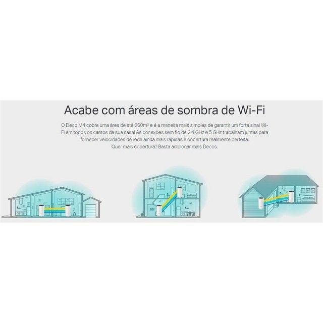 Roteador Wireless Mesh TP-Link Deco M4 AC1200, 2 Antenas ou 12X R$ 69,34 - Foto 3