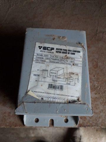 Reator para uma lampada vapor sodio 150w - Foto 2