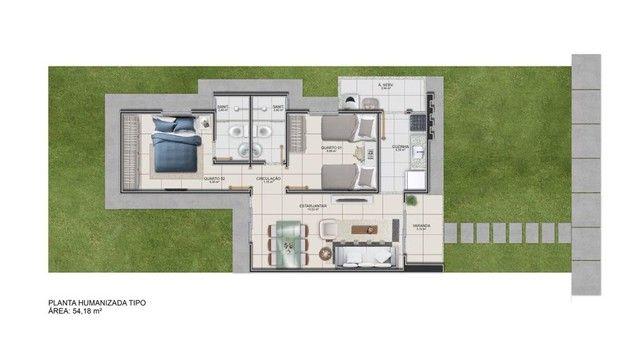 Empreendimento Viena Casa de 2 - quartos, suíte, laje, com o pé direito alto, deixando Imp - Foto 2