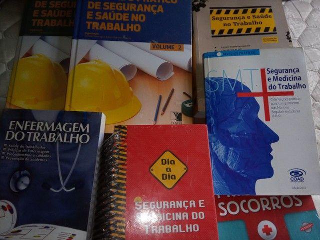 Vendo livros de Tec. Segurança no Trabalho