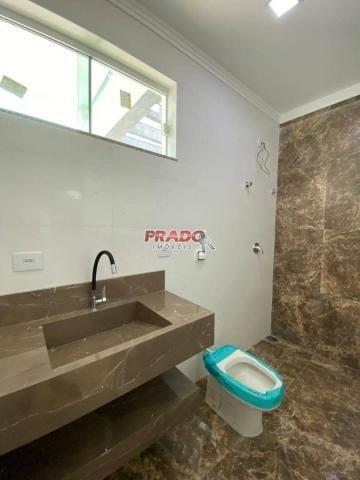 Casa nova com 3 dormitórios à venda, 105 m² por R$ 480.000 - Jd Alto Da Boa Vista - Maring - Foto 10