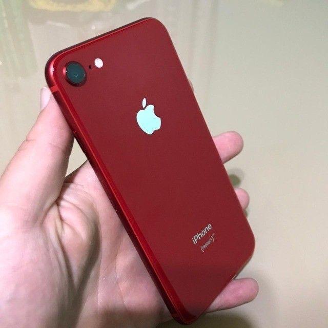 iPhone 8 RED 64 GB (somente  venda ) - Foto 4