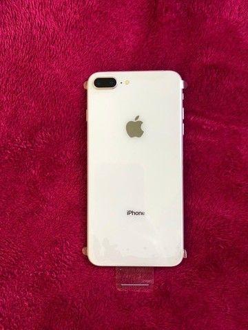 Iphone 8 plus Desbloqueado 64gb Silver - Troco em Iphones superiores - Foto 2