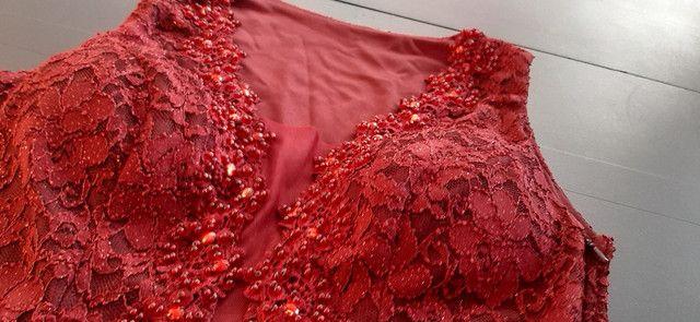 Vestido de festa G marsala - Foto 2
