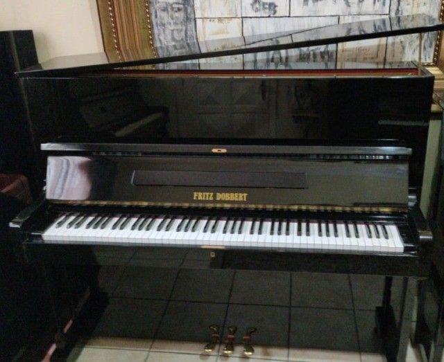 CasaDePianos Salão Vendas Pianos Fritz Dobbert Tops Acesse Site CasaDePianos  - Foto 3