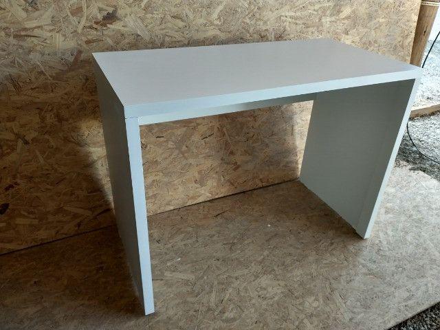 Mesa / escrivaninha/ escritório/ com engrossamento 3cm / novo MDF - Foto 3