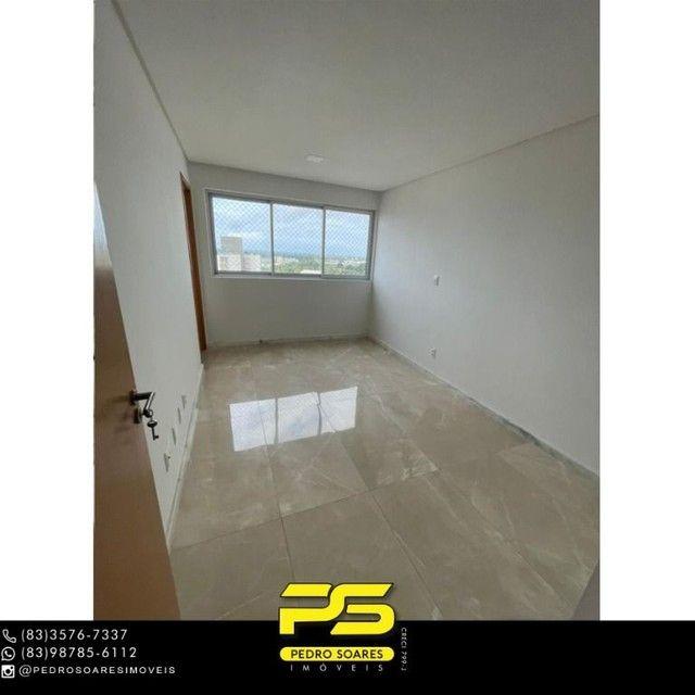 Apartamento com 3 dormitórios para alugar, 190 m² por R$ 6.200/mês - Altiplano Cabo Branco - Foto 7