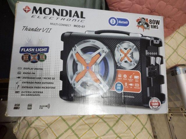 Caixa amplificadora rádio bluetooth - Foto 2