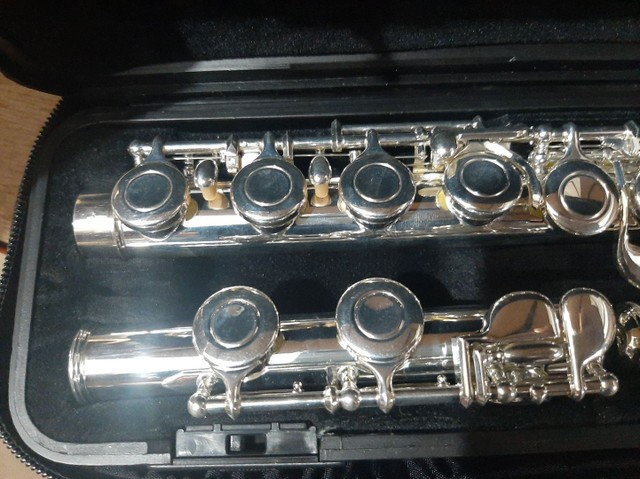 Flauta Transversal Yamaha YFL311 Japonesa - Foto 3