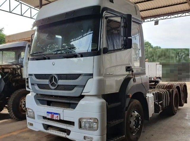 Mercedes-benz Axor 2536 6x2 Ano 2016 Teto Alto - Foto 5