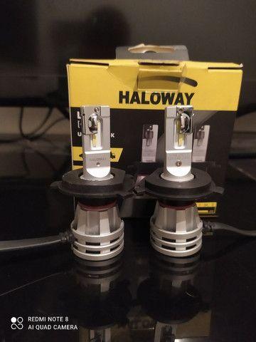 Vendo lâmpadas Led halloway H4 Philips e led canceller - Foto 2