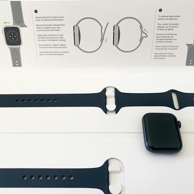 Apple Watch SE 40mm preto GPS - Foto 3