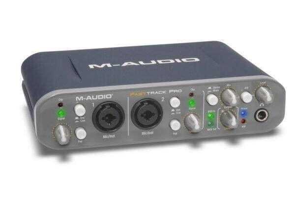 Interface M-audio Fast Track Pro com caixa original