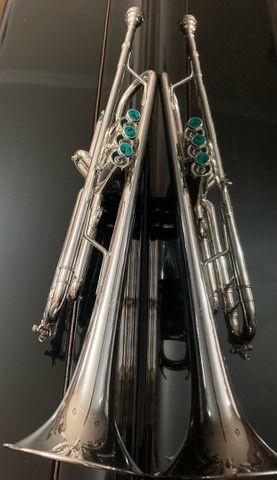 Trompete Vicent Bach 37 Profissional - Foto 4